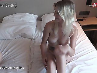 MyDirtyHobby - First time on camera for young amateur couple