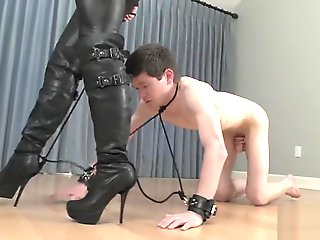 Mistress Walk With Attached Slave