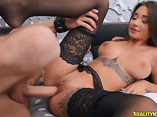 Charlie Dean & Liya Silver in Unwinding After Work - BigNaturals