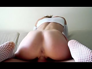 ROUGH FUCK FOR HORNY YOUNG BABE COVERED ALL HER PERFECT 8PAX ABS WITH CUM