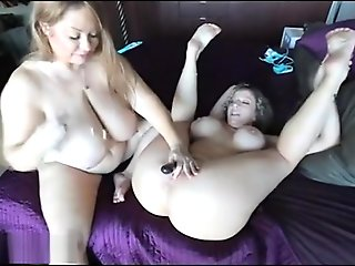 Horny adult video Big Tits newest show
