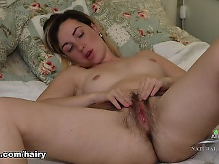 Sasha K in Hairy Fun Movie - ATKHairy