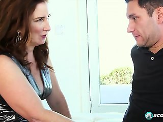 Ass-fucked by her grandson's friend - 60PlusMilfs