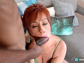 Ruby O'Connor's first big, black cock - PornMegaLoad