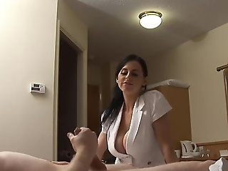 Lonely and horny traveller in Hotel