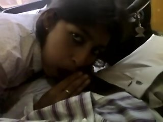 Indian Beautiful cute Awesome baby breast feed and give blowjob to bf in ca
