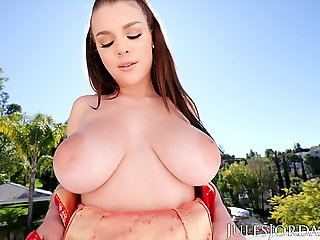 Jules Jordan - Teen Gabbie Carter Takes It Up The Ass
