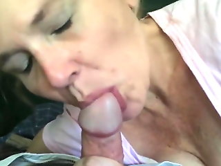 58 Years Old Mature Amazing Blowjob